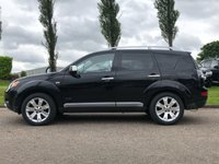 USED 2008 58 MITSUBISHI OUTLANDER 2.2 DIAMOND 5d 156 BHP NAVIGATION SYSTEM *  7 SEATS *  LEATHER TRIM *    PARKING AID * FULL SERVICE RECORD *  FULL YEAR MOT