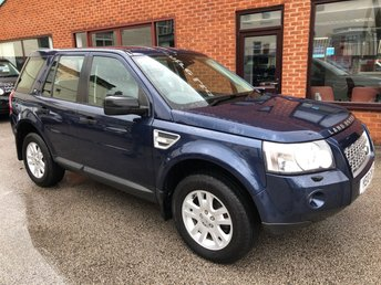 2010 LAND ROVER FREELANDER 2.2 TD4 E XS 5DOOR 159 BHP £9450.00
