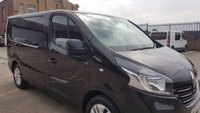USED 2015 15 RENAULT TRAFIC 1.6 SL27 SPORT DCI S/R P/V 1d 115 BHP NO VAT TO ADD 1 OWNER 2 KEYS FREE 12 MONTHS WARRANTY COVER