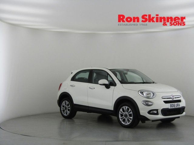 View our 2016 16 FIAT 500X 1.4 MULTIAIR POP STAR 5d 140 BHP