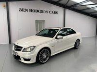 2012 MERCEDES-BENZ C CLASS 6.2 C63 AMG 4d AUTO 457 BHP £22995.00