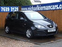2010 SEAT ALTEA 1.6 S ECOMOTIVE CR TDI 5d 103 BHP £4695.00