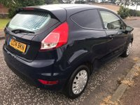 USED 2014 14 FORD FIESTA 1.6 TDCI ECOnetic II Panel Van 3dr 1 Owner ! F/S/H ! NO VAT !