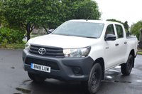 USED 2018 18 TOYOTA HI-LUX 2.4 ACTIVE 4WD D-4D DCB 1d 148 BHP