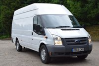 USED 2014 63 FORD TRANSIT 2.2 350 H/R 5d 99 BHP