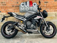 USED 2017 17 TRIUMPH STREET TRIPLE 765 RS ABS SC Project Exhaust