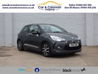 USED 2014 14 CITROEN DS3 1.2 DSIGN 3d 82 BHP One Owner Full Service History Buy Now, Pay Later Finance!