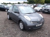 USED 2005 05 NISSAN MICRA 1.2 S 3d 80 BHP Great Value Micra, Drives Lovely, Ideal First Car or Runaround!