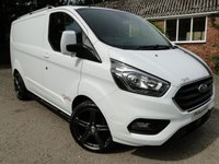 2018 FORD TRANSIT CUSTOM 2.0 130 EcoBlue 300 L1/H1 Limited PVSsportline Edition £15795.00