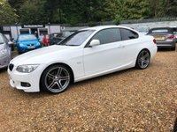 2010 BMW 3 SERIES 2.0 320I M SPORT 2d 168 BHP £8500.00