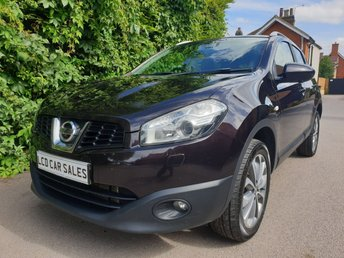 2013 NISSAN QASHQAI 1.6 TEKNA DCI - FULL SERVICE HISTORY - PANORAMIC SUNROOF, SATELLITE NAVIGATION, REAR VIEW CAMERA, BLUETOOTH, BOSE PREMIUM STEREO, HEATED SEATS £7490.00