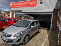 USED 2014 14 VAUXHALL CORSA 1.2 S AC S/S 5d 83 BHP LOW CO2 EMISSIONS AND ECOFLEX MODEL!..14342 MILES FROM NEW. LOW CO2 EMISSIONS, LOW INSURANCE GROUP, GOOD SPEC INCLUDING AUXILIARY INPUT, ELECTRIC FRONT WINDOWS, REMOTE LOCKING. AIR CONDITIONING!..MEETS HIGHEST EMISSION STANDARDS INCLUDING THOSE FOR LARGE CITIES.