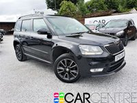 USED 2014 64 SKODA YETI 2.0 BLACK EDITION TDI CR 5d 138 BHP 2 PRV OWNERS + FULL SKODA HISTORY