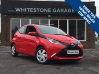 USED 2016 16 TOYOTA AYGO 1.0 VVT-I X-PLAY 5d 69 BHP 16000 MILES, FREE TAX, CRUISE CONTROL, REAR CAMERA, AIR COND, LOW INSURANCE