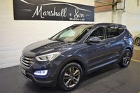 USED 2015 15 HYUNDAI SANTA FE 2.2 CRDI PREMIUM SE 5d AUTO 194 BHP 7 SEATS GREAT VALUE 2015 - 7 SEATS - 4X4 - AUTO - LEATHER - H/SEATS - PRIVACY GLASS