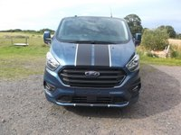 2019 FORD TRANSIT CUSTOM 69 Plate Transit Custom L2 H1 Sport 170 manual, Led load lights, Twin side load doors, Rear Tailgate £23999.00