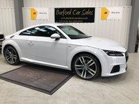 USED 2015 64 AUDI TT 2.0 TDI ULTRA S LINE 2d 182 BHP