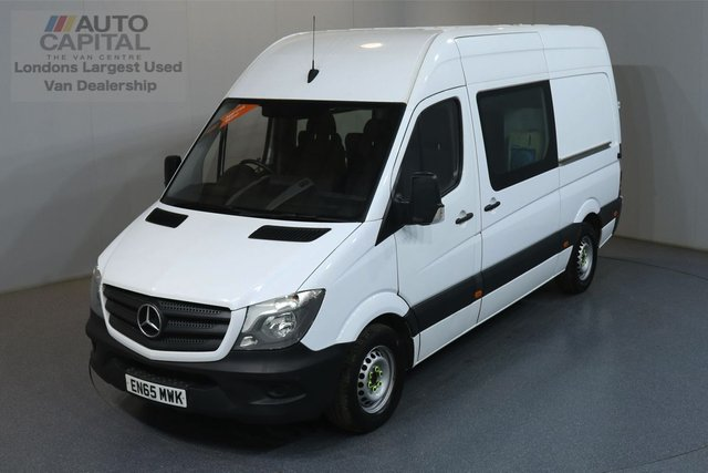 2015 65 MERCEDES-BENZ SPRINTER 2.1 313 CDI MWB 129 BHP 7 SEATS COMBI CREW MESS MOT UNTIL 17/06/2020