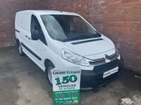 USED 2014 64 CITROEN DISPATCH 1.6 1000 L1H1 ENTERPRISE HDI 1 OWNER FULL SERVICE HISTORY AIR CON  1 OWNER, FULL SERVICE HISTORY AIR CON SAT NAV