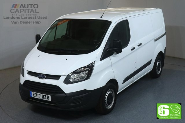 2017 17 FORD TRANSIT CUSTOM 2.0 270 L1H1 SWB 104 BHP EURO 6 MOT UNTIL 01/03/2020