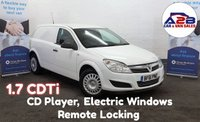 2011 VAUXHALL ASTRA 1.7 CDTi CLUB ECOFLEX 108 BHP in White with 78,106 miles, CD Player, Remote Central Locking £3480.00