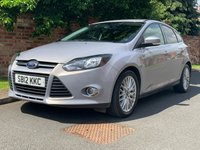 USED 2012 12 FORD FOCUS 1.6 ZETEC TDCI 5d 113 BHP 2 OWNERS, £20 ROAD TAX, FULL SERVICE HISTORY, 1YR MOT EXCELLENT CONDITION, ALLOYS, AIR CON,  FOGS, RADIO CD, E/WINDOWS, R/LOCKING, FREE WARRANTY, FINANCE AVAILABLE, HPI CLEAR, PART EXCHANGE WELCOME,