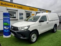 USED 2017 67 TOYOTA HI-LUX 2.4 ACTIVE 4WD D-4D S/C 148 BHP