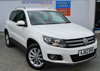USED 2012 62 VOLKSWAGEN TIGUAN 2.0 SE TDI BLUEMOTION TECHNOLOGY 4MOTION DSG 5d 4x4 Family SUV AUTO with Full VW Service History inc Cambelt Change and Ready to Drive Away Today ** LOW MILEAGE FOR AGE**