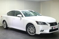 "USED 2013 13 LEXUS GS 3.5 450H PREMIER 4d AUTO 345 BHP 18""ALLOYS+PARKING SENSORS+NAV+SEAT MEMORY+LEATHER+REVERSE CAMERA"