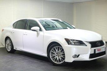2013 LEXUS GS 3.5 450H PREMIER 4d AUTO 345 BHP £16480.00