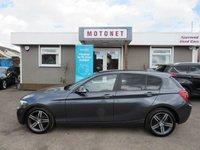 2013 BMW 1 SERIES 1.6 114D SPORT 5DR HATRCHBACK DIESEL 95 BHP £SOLD