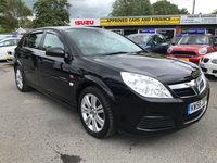 2007 VAUXHALL SIGNUM 1.8 ELEGANCE VVT 5d 140 BHP IN METALLIC BLACK WITH 32,000 MILES AND A FULL SERVICE HISTORY! £2299.00