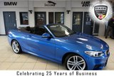 USED 2016 16 BMW 2 SERIES 1.5 218I M SPORT 2d 134 BHP FINISHED IN STUNNING ESTORIL BLUE WITH ANTHRACITE CLOTH SPORT SEATS + FULL BMW SERVICE HISTORY + SATELLITE NAVGATION + XENON HEADLIGHTS + BLUETOOTH + 18 INCH ALLOYS + DAB RADIO + PARKING SENSORS + AIR CONDITIONING