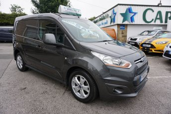 2015 FORD TRANSIT CONNECT 1.6 TDCI 115 BHP 200 L1 LIMITED 5DR ( JUST 24000 MILES ) £9989.00