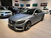 2016 MERCEDES-BENZ C CLASS 1.6 C200 D AMG LINE PREMIUM 4d AUTO 136 BHP £19295.00