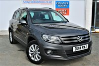 USED 2014 14 VOLKSWAGEN TIGUAN 2.0 MATCH TDI BLUEMOTION TECHNOLOGY 4MOTION 5d Family SUV Recnt Service and MOT and Cambelt Change so Ready to Drive Away Today ** VERY LOW MILEAGE FOR AGE**