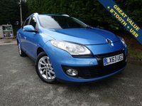 USED 2013 63 RENAULT MEGANE 1.5 (ESTATE) EXPRESSION PLUS ENERGY DCI S/S 5d 110 BHP