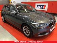 USED 2015 64 BMW 1 SERIES 1.6 116D EFFICIENTDYNAMICS 5d 114 BHP +ONE OWNER +SAT NAV +FREE TAX.