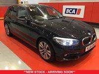 USED 2016 65 BMW 1 SERIES 1.5 116D SPORT 5d 114 BHP +ONE OWNER +LOW TAX +SAT NAV.