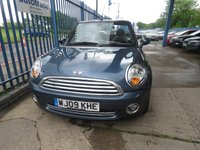 USED 2009 09 MINI CONVERTIBLE 1.6 COOPER 2dr Convertible Full leather 16