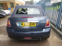USED 2009 09 MINI CONVERTIBLE 1.6 COOPER 2d 120 BHP Convertible with Full Leather