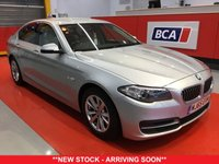 USED 2015 65 BMW 5 SERIES 2.0 518D SE 4d AUTO 148 BHP +ONE OWNER +LOW TAX +AUTOMATIC