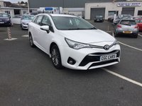 USED 2016 65 TOYOTA AVENSIS 1.6 D-4D BUSINESS EDITION 5d 110 BHP