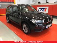 USED 2015 64 BMW X3 2.0 XDRIVE20D SE 5d 188 BHP +ONE OWNER +SAT NAV +LEATHER