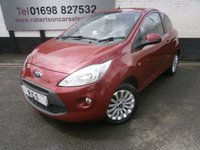 USED 2012 12 FORD KA 1.2 ZETEC 3d 69 BHP LOW INSURANCE GROUP