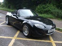 USED 2009 59 MAZDA MX-5 1.8i Roadster SE Convertible Cabriolet Electric hardtop roof. Heated leather.