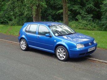 2004 VOLKSWAGEN GOLF 1.6 1d LEFT HAND DRIVE (PETROL) AUTO £2995.00