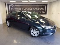 2016 VAUXHALL ASTRA 1.0 TURBO DESIGN ECOFLEX S/S 5d + 1 OWNER FROM NEW £6775.00