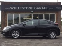 USED 2016 16 HONDA CIVIC 1.6 I-DTEC SE PLUS NAVI 5d 118 BHP FREE ROAD TAX, SATELLITE NAVIGATION, REVERSING CAMERA, BLUETOOTH, CRUISE CONTROL, CLIMATE CONTROL, FRONT AND REAR PARKING SENSORS,