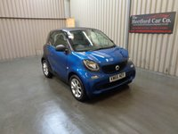 2017 SMART FORTWO 1.0 PASSION 2d AUTO 71 BHP £7495.00